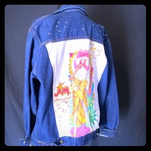 Jem Upcycled Jean Jacket 💫 Jem and the Holograms